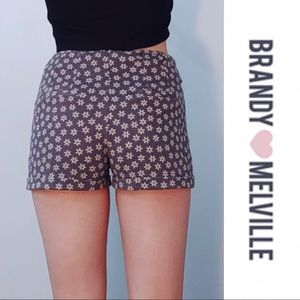 🌼 Brandy Melville Shorts High Waisted Floral